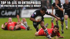 Top 14: Les 11 entreprises où postuler si vous aimez le rugby