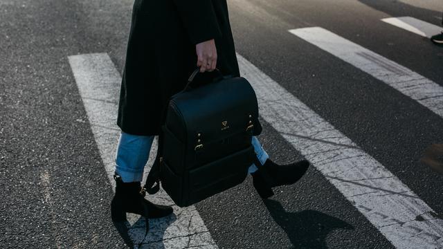 Big asphalt backpack bag 842963