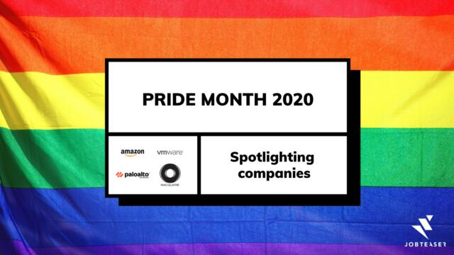 Spotlight on Companies Celebrating Pride Month 2020: How do companies support the LGBTQIA+ cause?