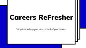 Medium careers refresher