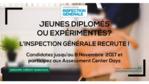 L'Inspection Générale du Groupe recrute !