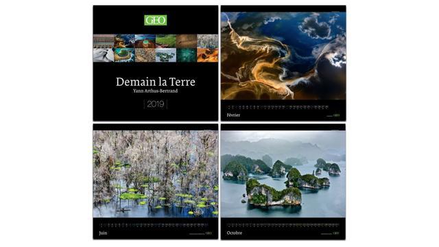 Calendrier Geo 2019.Les Editions Prisma Presentent Les Calendriers Geo 2019