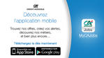 Crédit Agricole lance son application mobile 100% recrutement !