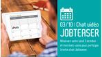 [Evénement] N'oubliez pas notre Chat-vidéo Jobteaser spécial recrutement