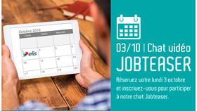 [Evénement] J-7 avant notre Chat-vidéo Jobteaser spécial recrutement