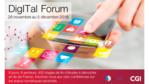 DigITal forum de CGI :6 jours, 6 secteurs, 400 stages en Ile-de-France à pourvoir dans les métiers du numérique