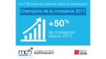 mc²i Groupe classé dans les 500 champions de la croissance