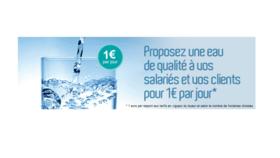 [Service Boissons] Une eau de qualité pour vos salariés et vos clients