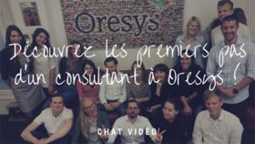 Chat-vidéo : Découvrez les premiers pas d'un consultant à Oresys !