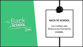 Video Live - Découvrez les métiers des Ressources Humaines chez CHANEL