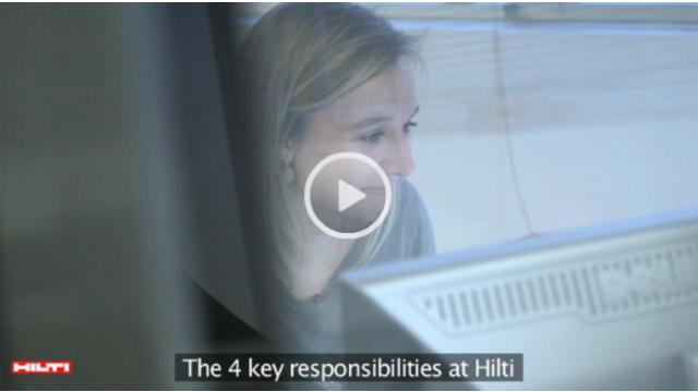 Chef De Produit Chez Hilti France Video Metier Jobteaser