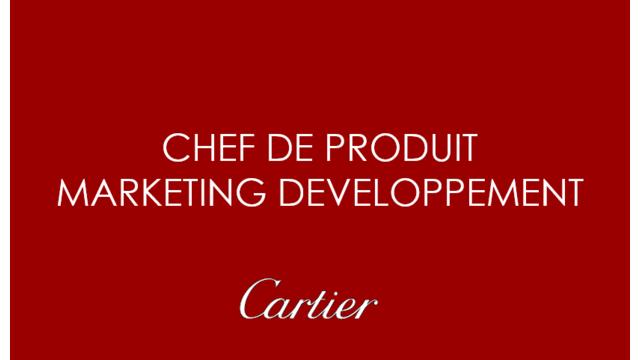 Chef De Produit Marketing Developpement Chez Cartier Video