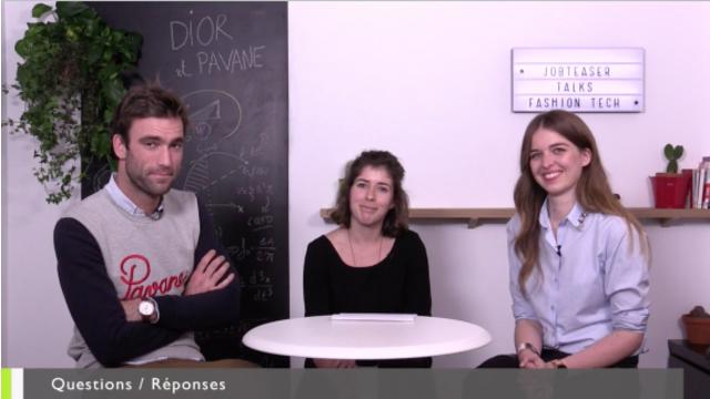 JobTeaser Conseil - Fashion Tech : les nouvelles technologies et la mode avec Dior & Pavane